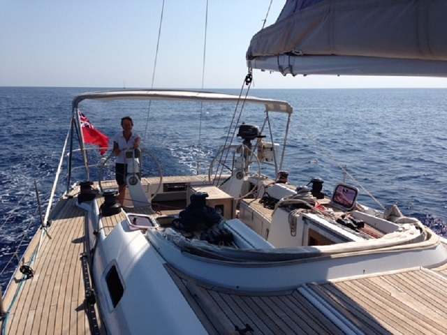 Hold on tight… Helen's at the helm!