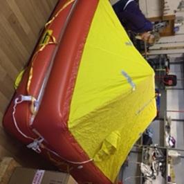 Life raft testing