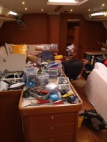 Maintenance onboard