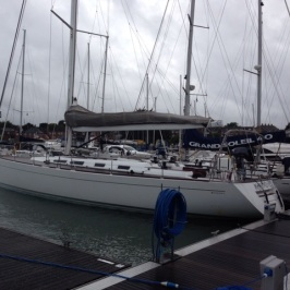 MM in Hamble berth 2