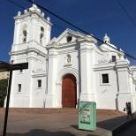 Central hall in Santa Marta